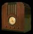 olde tyme wooden radio