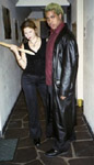buffy and spike, before yale's masquerade ball